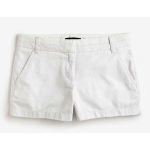 J Crew 3in Chino Shorts